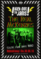 The Real McKenzies (Celtic Punk, Vancouver) + Bitter Grounds (Punk/Ska, Utrecht)