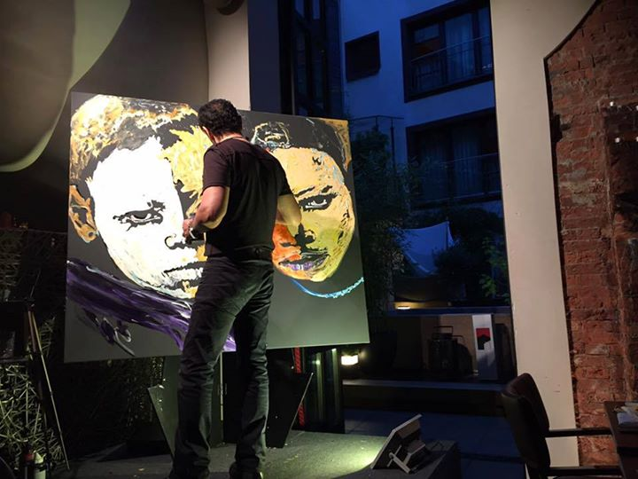 Live Painting Behzad Behpour