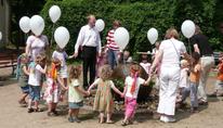 Plakat: Familiengottesdienst zum Sommerfest
