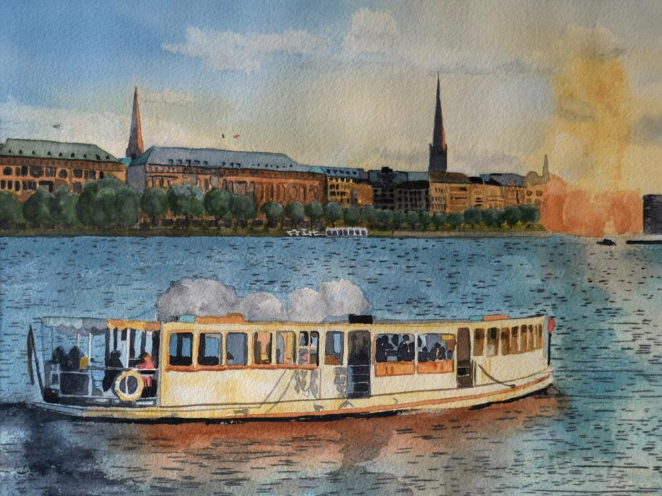Bild: Kunstausstellung von Renate Volkland und Bernd Pfeiffer