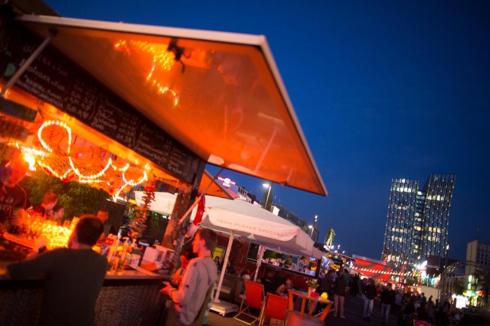 Bild: Der St. Pauli Nachtmarkt