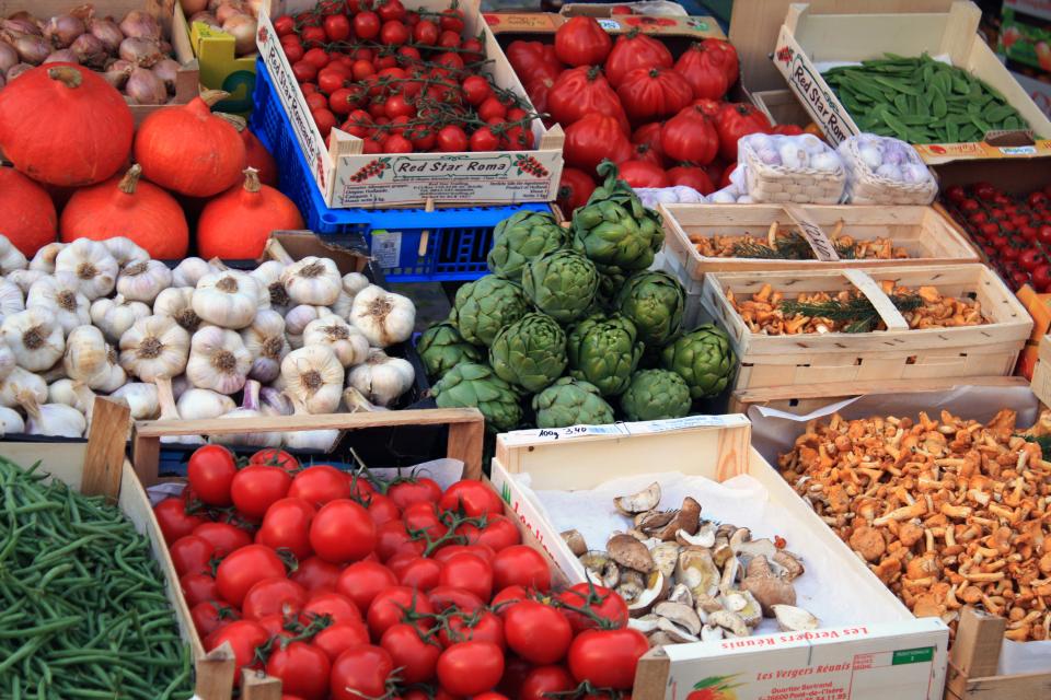 Bild: Wochenmarkt im Moorhof