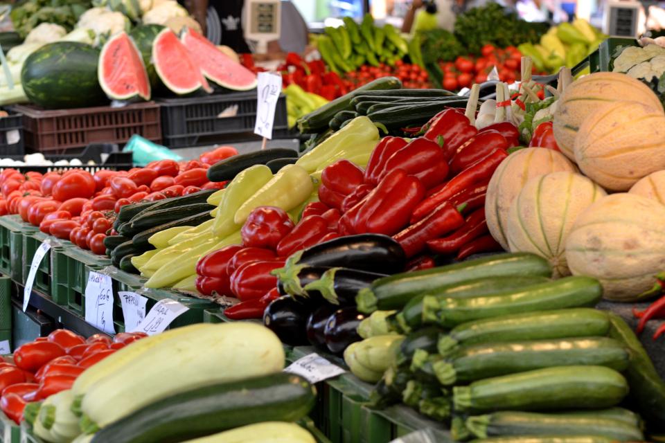Bild: Wochenmarkt in der Kandinskyallee