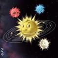 Plakat: Kleiner Stern im großen All