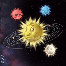Bild: Kleiner Stern im großen All
