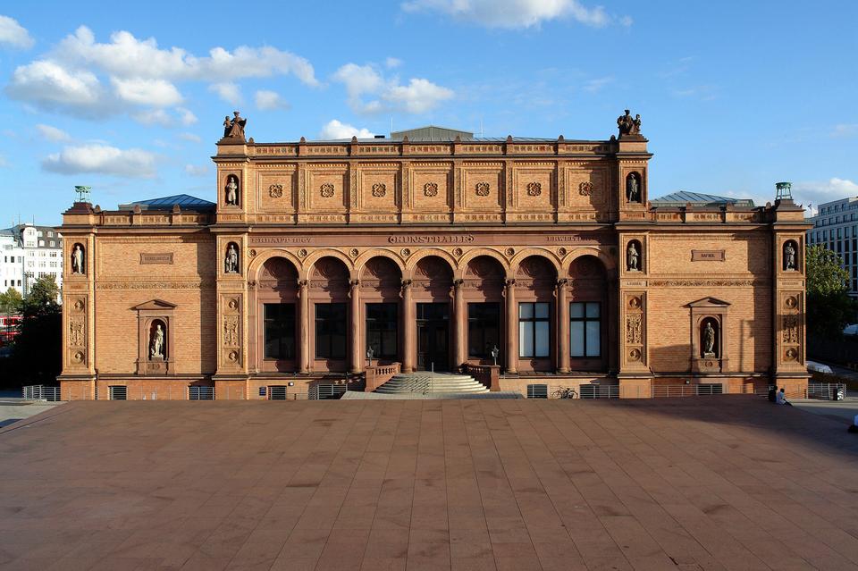 Bild: Gründungsbau, Blick von der Galerie der Gegenwart