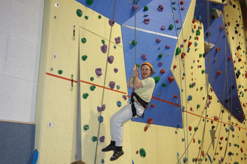 Bild: Klettern mit Sport und Inklusion