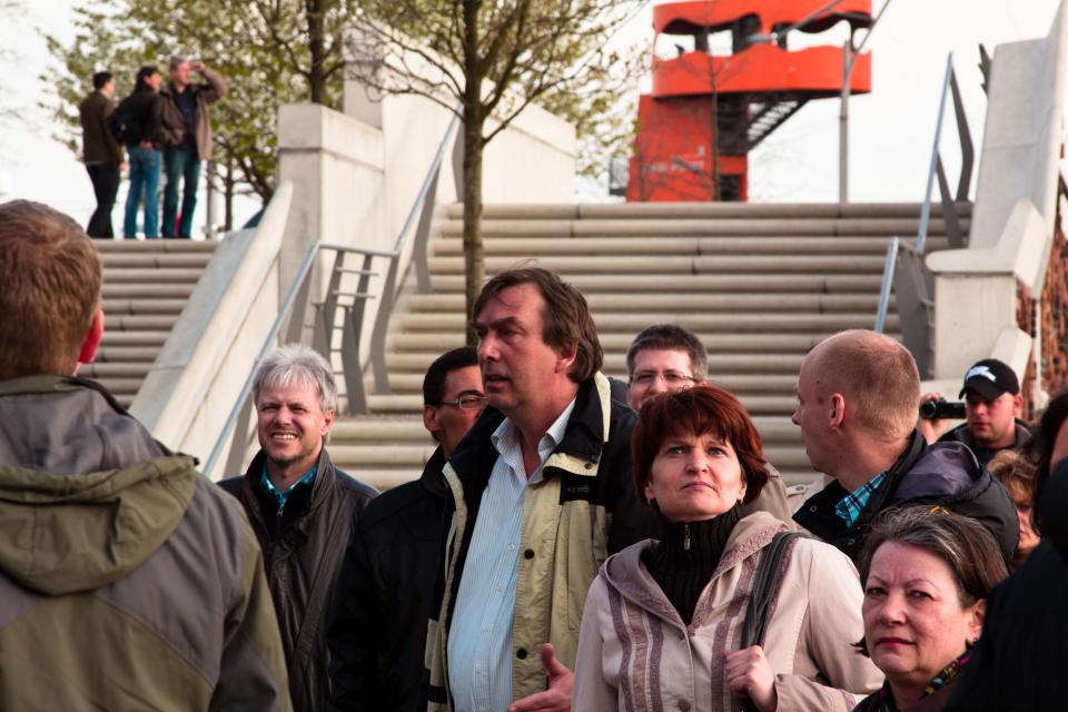 Bild: Hafencity Rundgang mit Gruppe