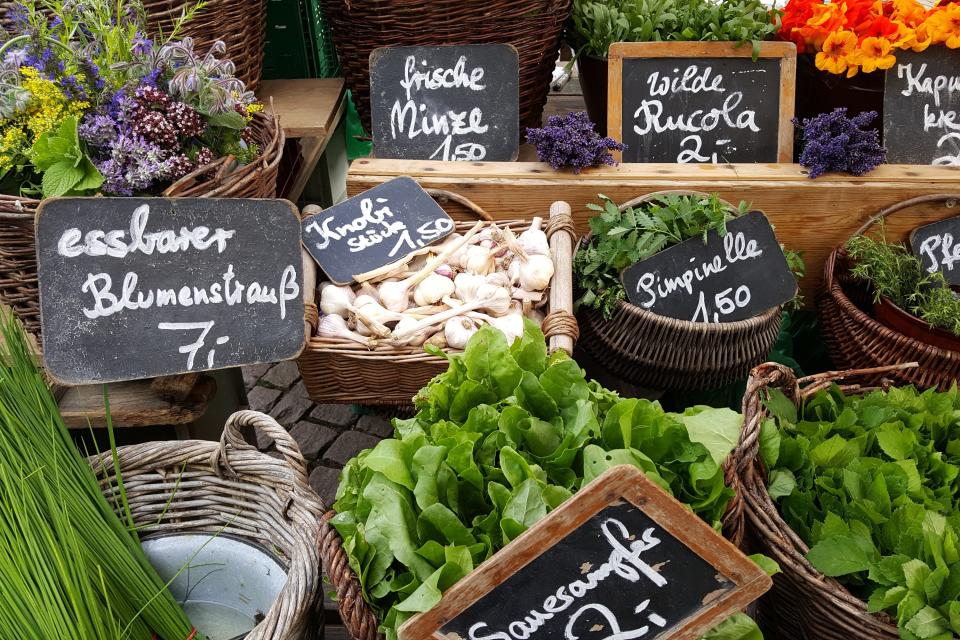 Bild: Wochenmarkt