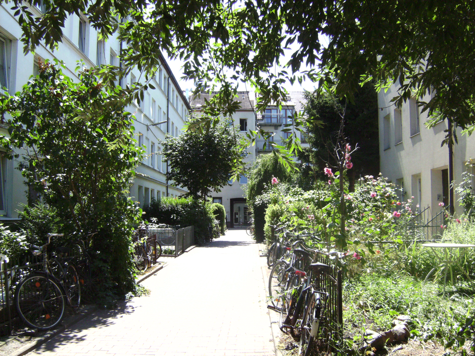 Bild: Beckers Passage im Terrassenviertel St. Pauli Nord