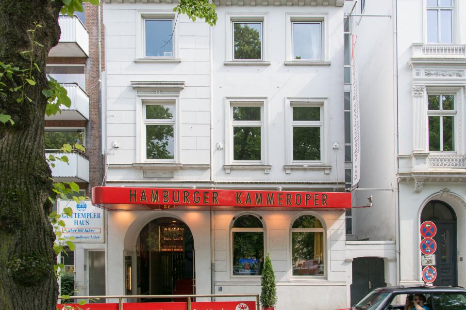 Bild: Die lustige Witwe - Hamburger Kammeroper