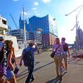 Plakat: Private Führung Hafencity & Speicherstadt