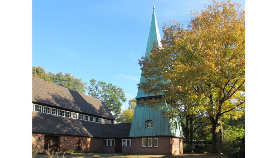 Bild: Christophoruskirche Hamburg-Hummelsbüttel