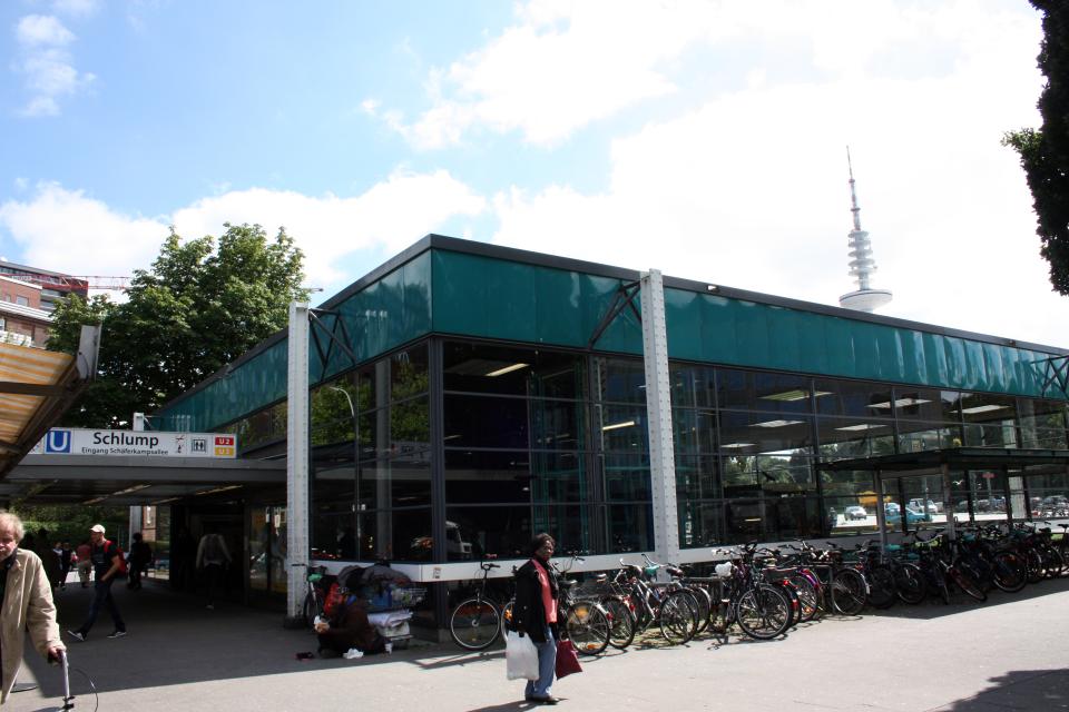 Bild: Treffpunkt: U-Bahnhof Schlump