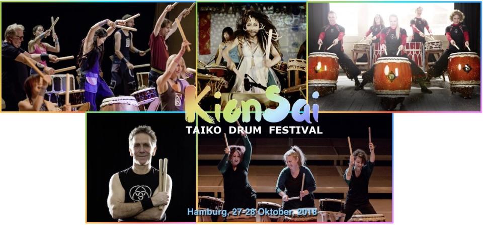 Bild: KionSai Taiko Drum Festival 2018