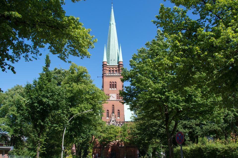 Bild: Kirche St. Johannis-Harvestehude