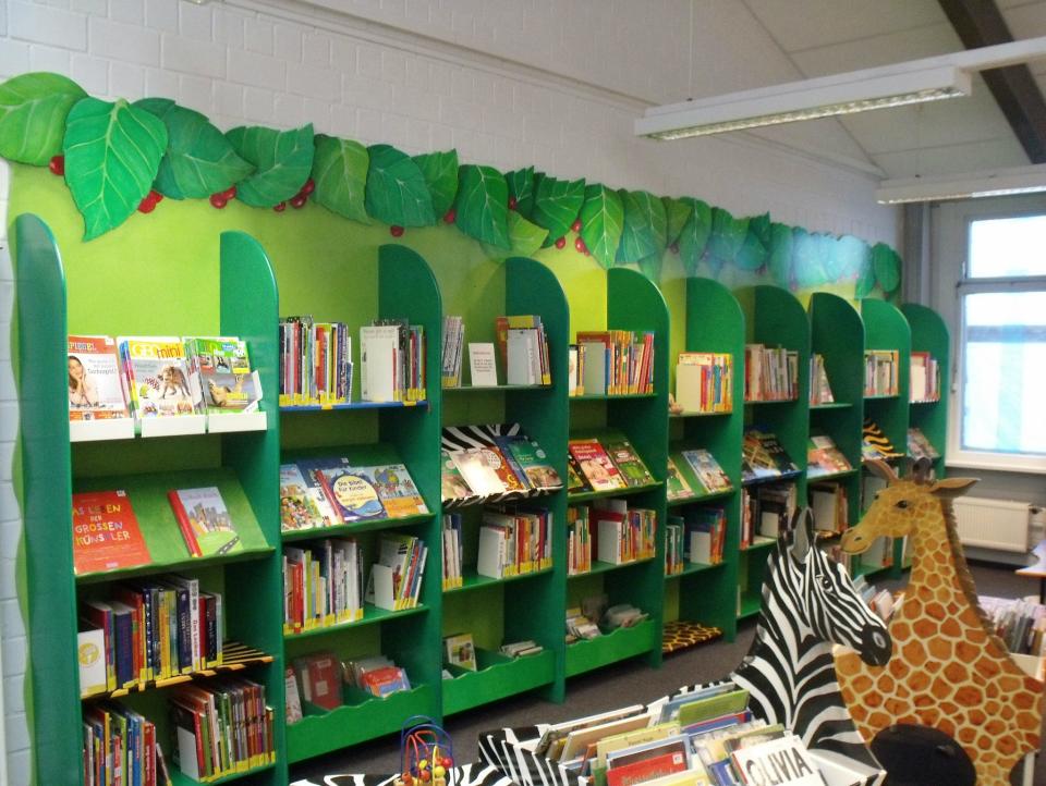 Bild: Der Kinderbereich in der Bücherhalle Kirchdorf