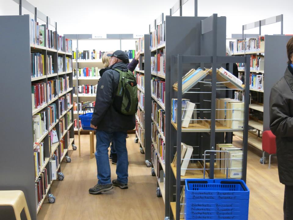 Bild: Die Bücherhalle Bergedorf