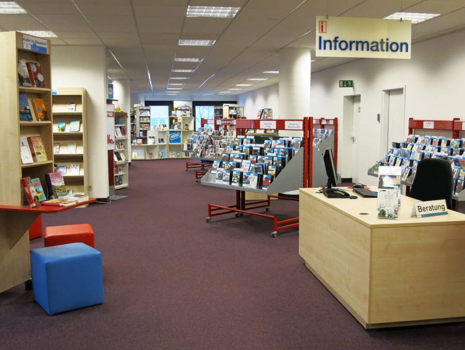 Bild: Die Bücherhalle Billstedt