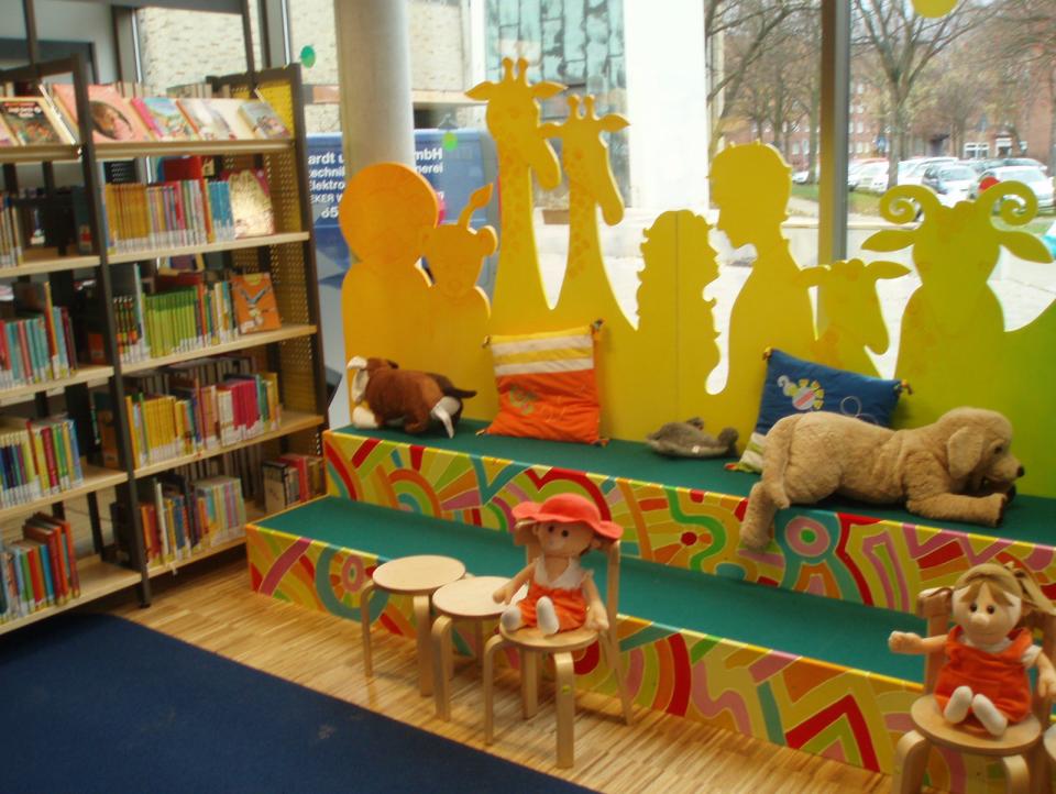 Bild: Die Bücherhalle Dehnhaide