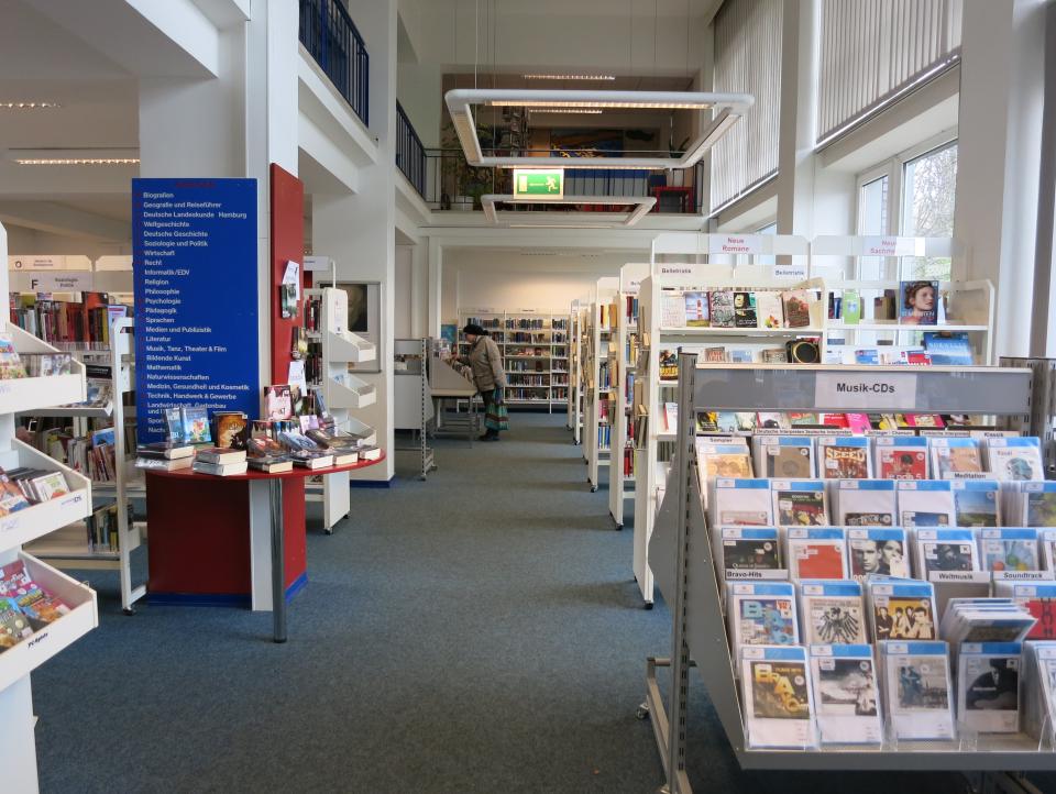 Bild: Die Bücherhalle Holstenstraße