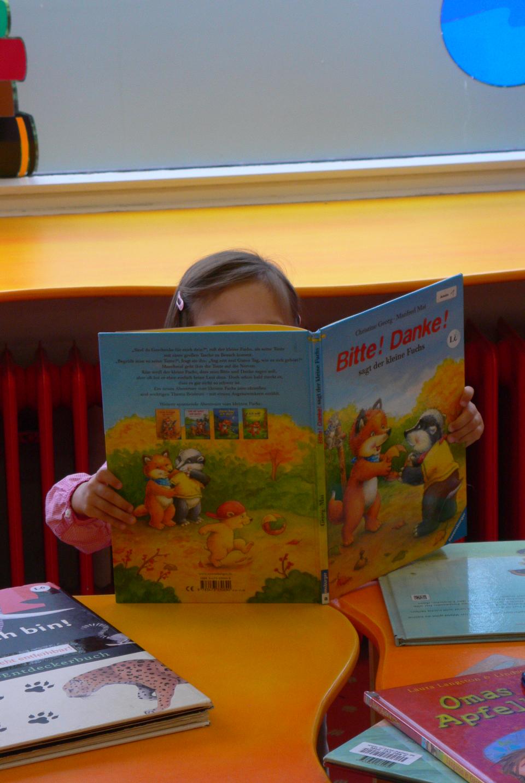Bild: Der Kinderbereich in der Bücherhalle Schnelsen