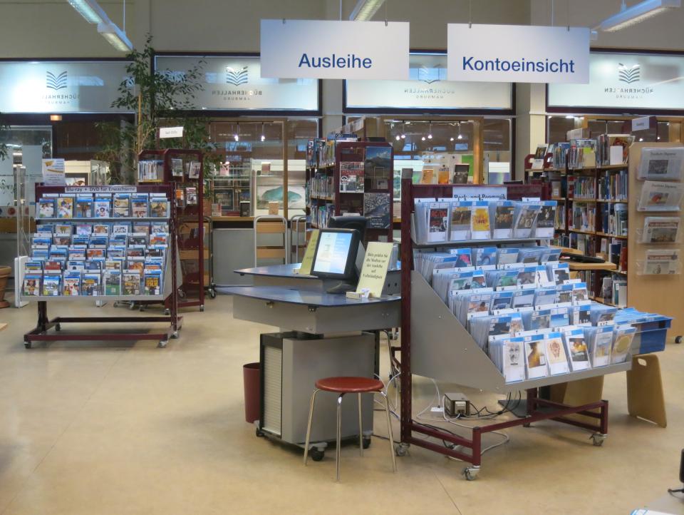 Bild: Bücherhalle Eimsbüttel