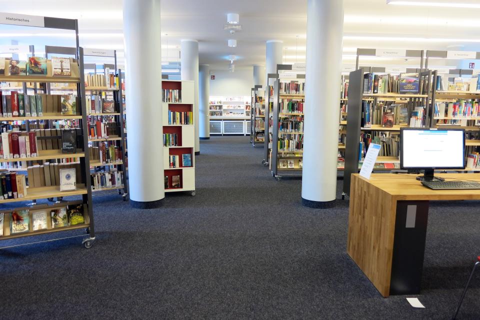 Bild: Die Bücherhalle Barmbek