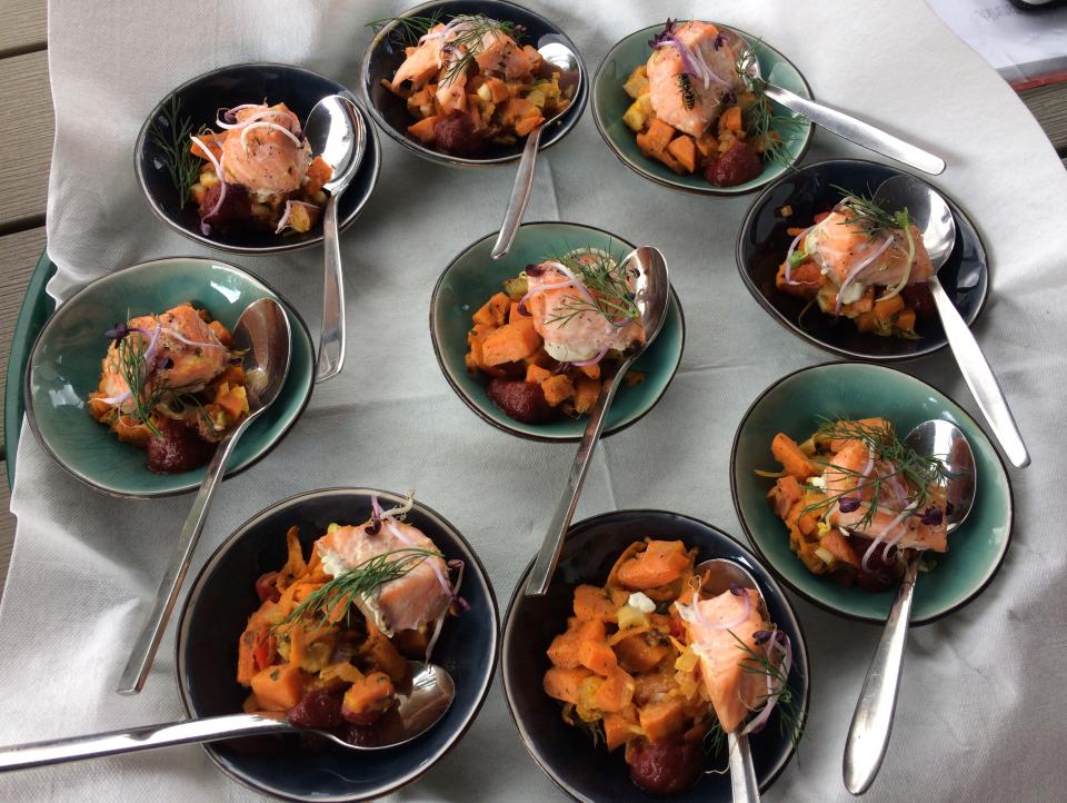 Bild: Vier Gänge - drei Köche - eine Philosophie! Kulinarik vor der Haustür