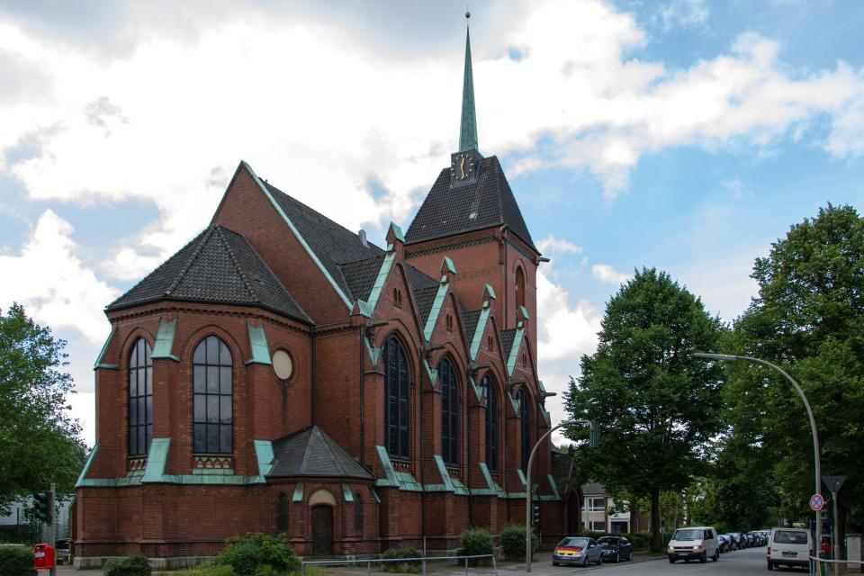 Bild: Friedenskirche Eilbek