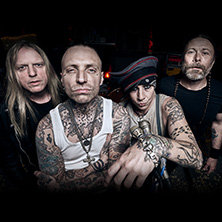 Bild: Backyard Babies + The Bones + Audrey Horne