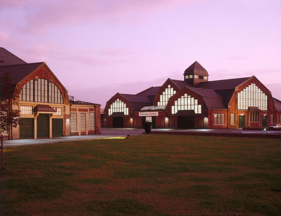 Bild: Die Halle für aktuelle Kunst und das Haus der Photographie