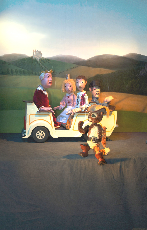 Bild: Marionettentheater im Jenisch Haus: Der Gestiefelte Kater
