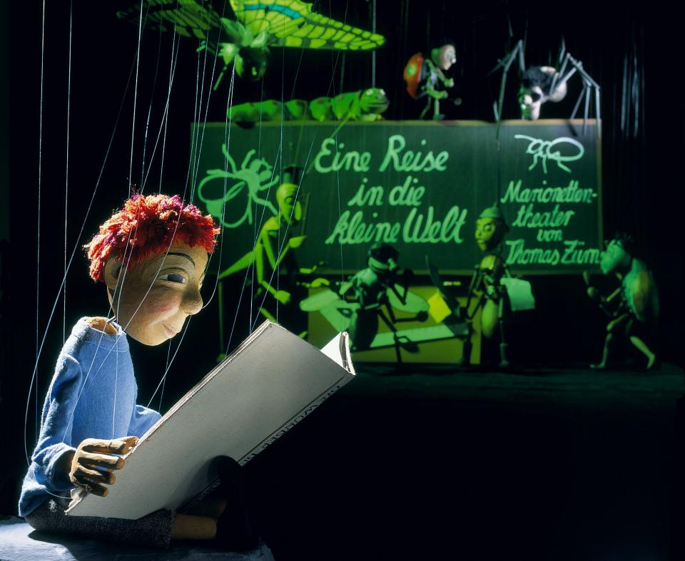 Bild: Marionettentheater im Jenisch Haus: Eine Reise in die Kleine Welt