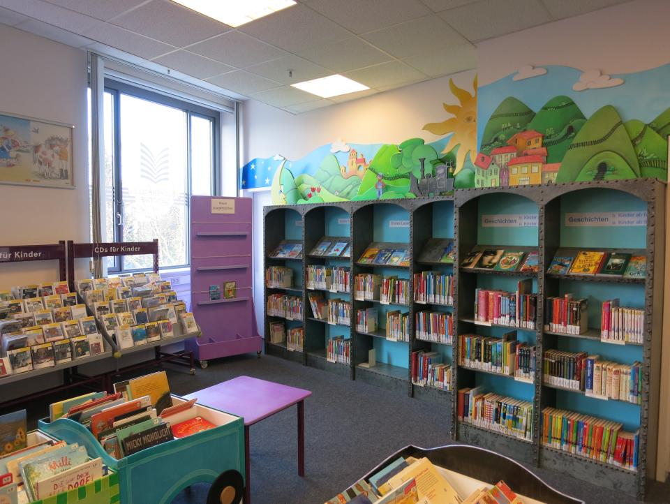Bild: Der Kinderbereich in der Bücherhalle Niendorf