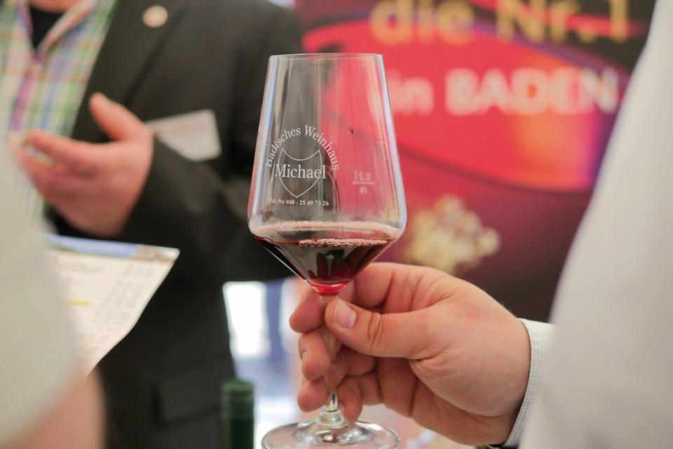 Bild: Badisches Weinfest in Hamburg