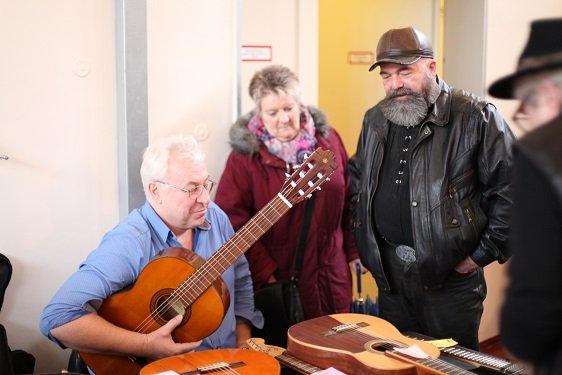 Bild: Musiker Flohmarkt 2017