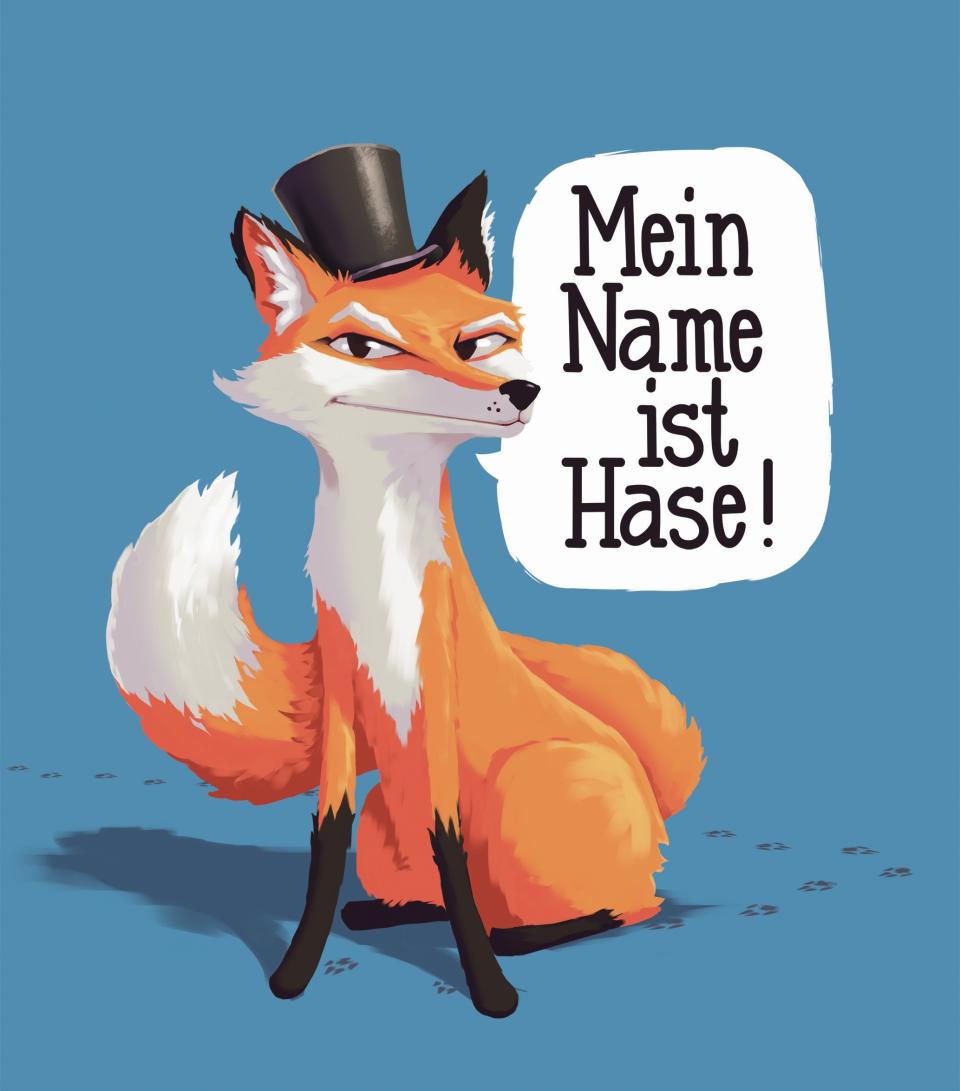 Bild: Mein Name ist Hase
