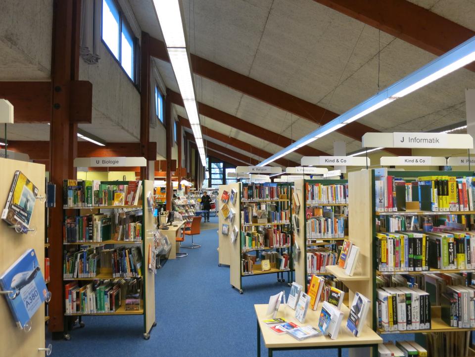 Bild: Die Bücherhalle Neugraben