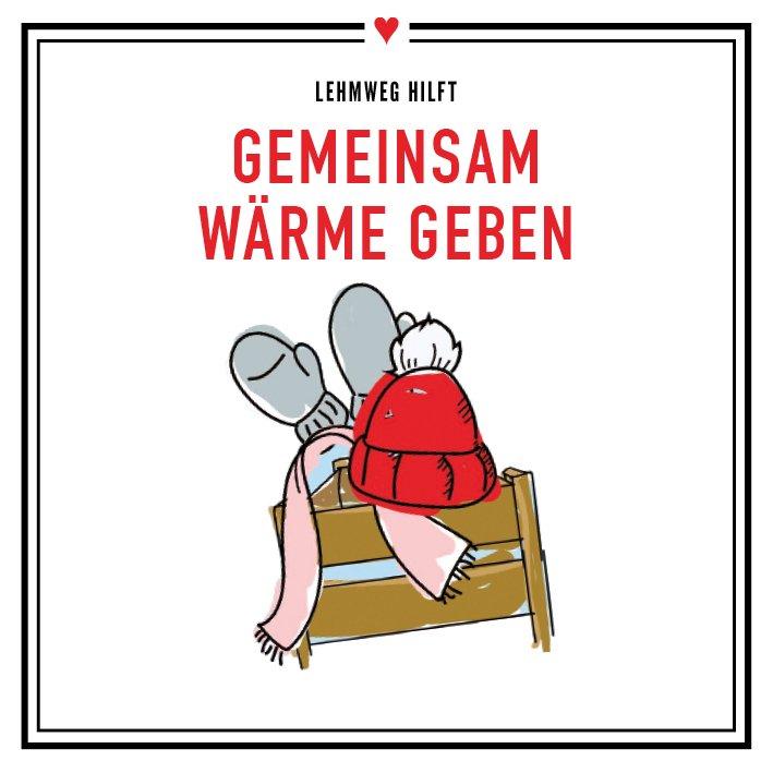 """Bild: """"Gemeinsam Wärme geben"""": Einzelhändler im Lehmweg rufen zum gemeinsamen Spenden auf"""