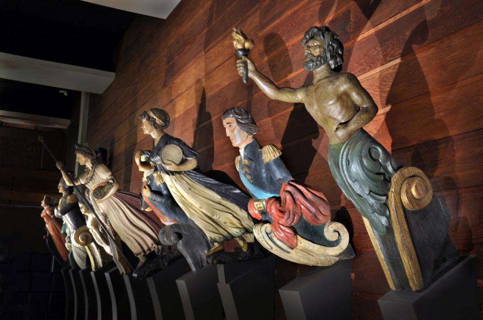 Bild: Altonaer Museum: Galionsfiguren