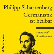 Bild: Philipp Scharrenberg: Germanistik ist heilbar