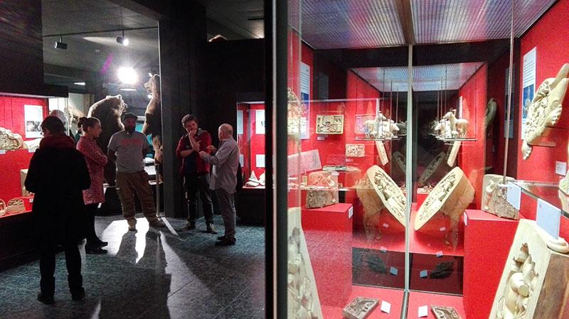 Bild: Tierwelten aus Holz: Ausstellung im Zoologischen Museum