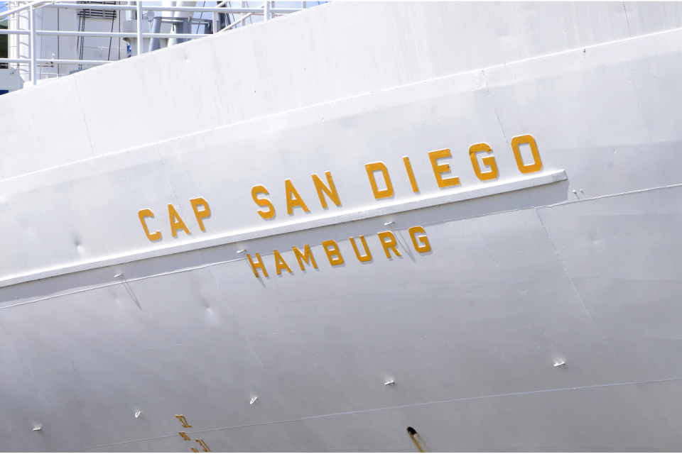 Bild: Museumsschiff  CAP SAN DIEGO