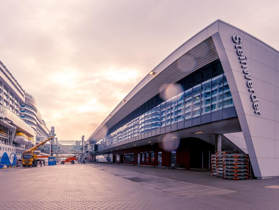 Bild: Cruise Center Steinwerder