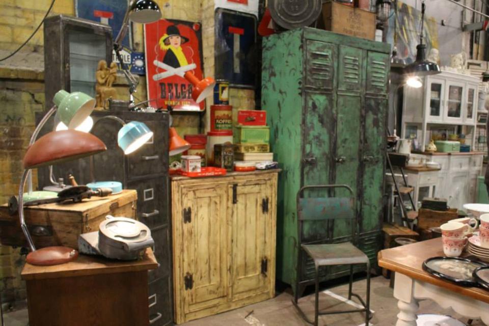 Bild: Vintage Markt auf Kampnagel