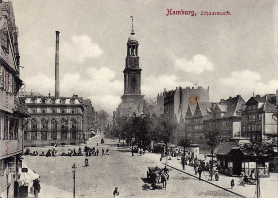 Bild: Schaarmarkt historisch