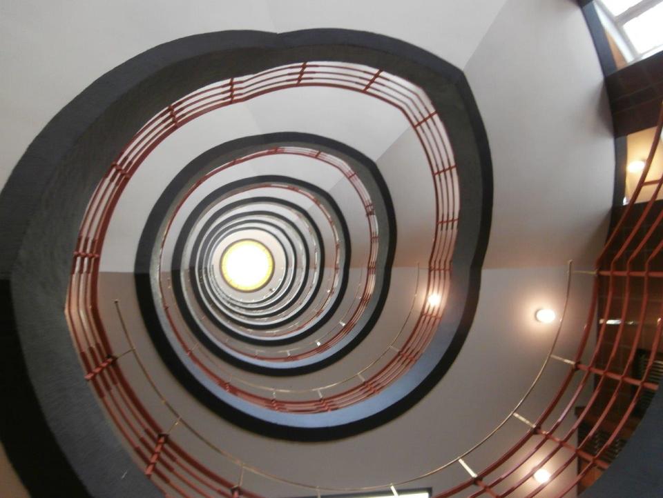 Bild: Treppenhaus Kontorhausviertel