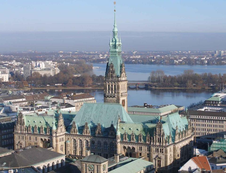 Bild: Hamburger Rathaus