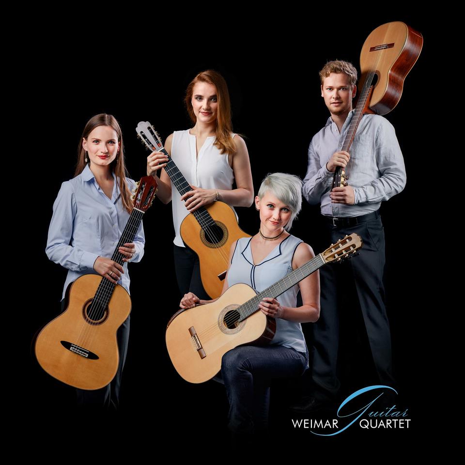Bild: Meisterkurs mit dem Weimar Guitar Quartet | Hamburger Gitarrentage 2019